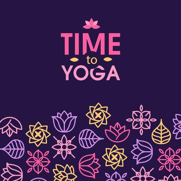 Zen meditation quote on organic texture background Free Vector