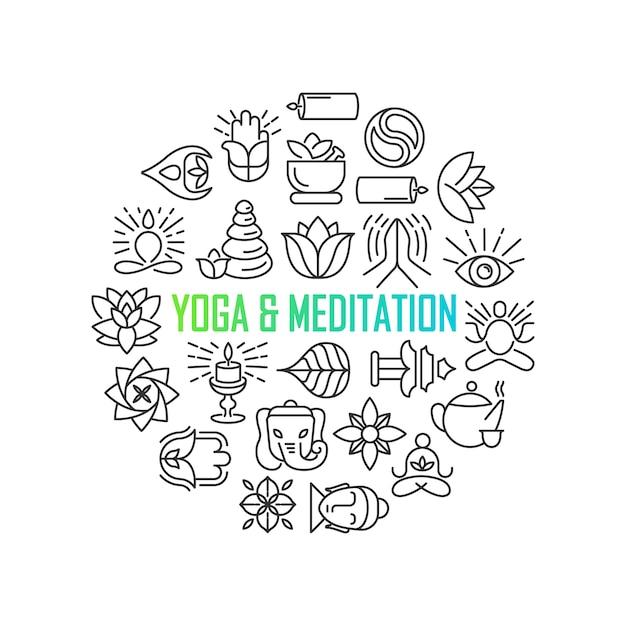 Zen meditation quote на фоне органической текстуры Бесплатные векторы