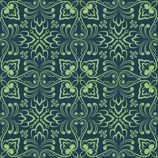 Zentangleスタイルの幾何学的な装飾パターン要素。 無料ベクター