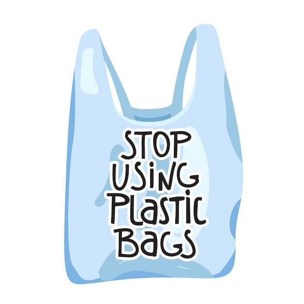 Zero waste . save the planet. Premium Vector