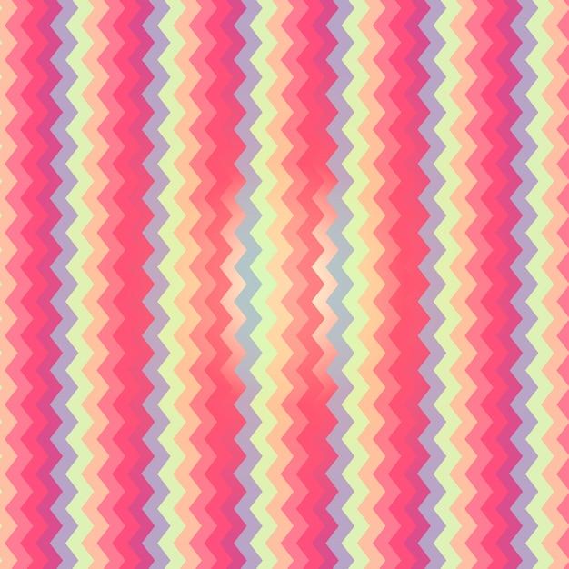 Zig zag pastel pattern Free Vector