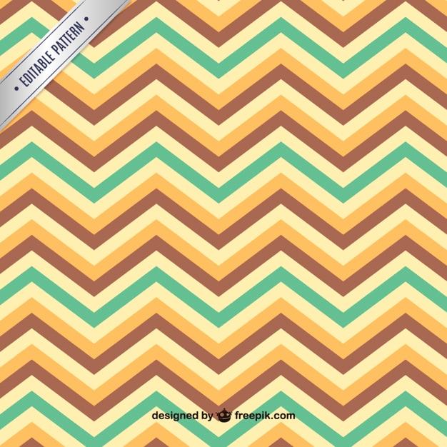 Zig zag seamless pattern Free Vector