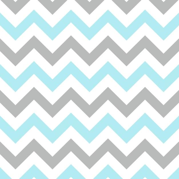 Zigzag pattern in pastel color Premium Vector