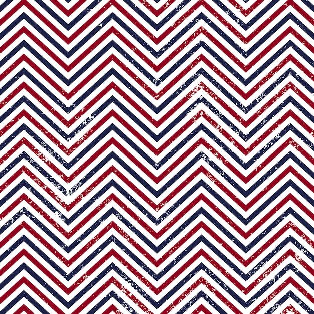 Zigzag pattern seamless background. Premium Vector
