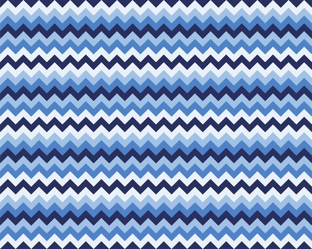 Zigzag pattern seamless. zig zag background color. Premium Vector
