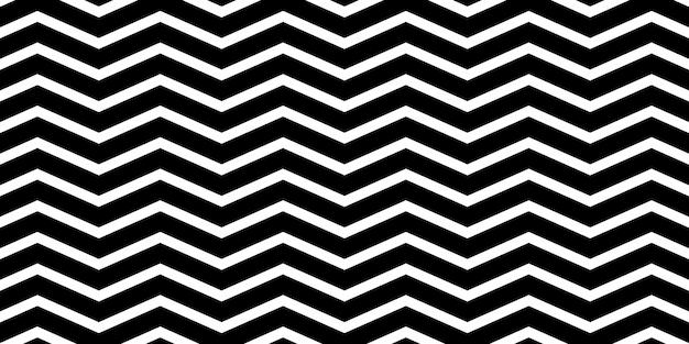 Zigzag seamless pattern Premium Vector