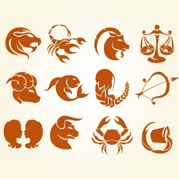 Zodiac Sign Collection Vector Free Download