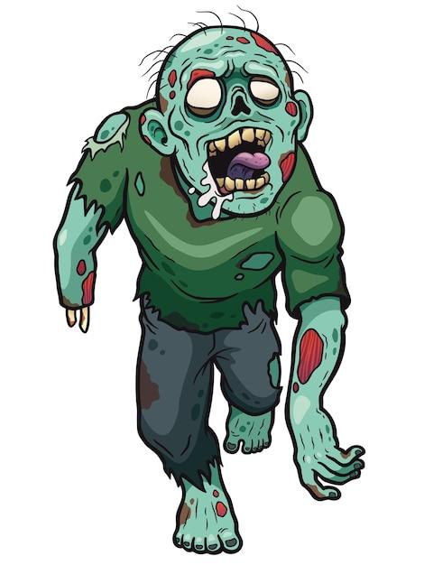 Zombie cartoon Vector | Premium Download