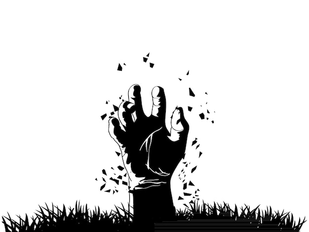 Image result for hand coming out of grave