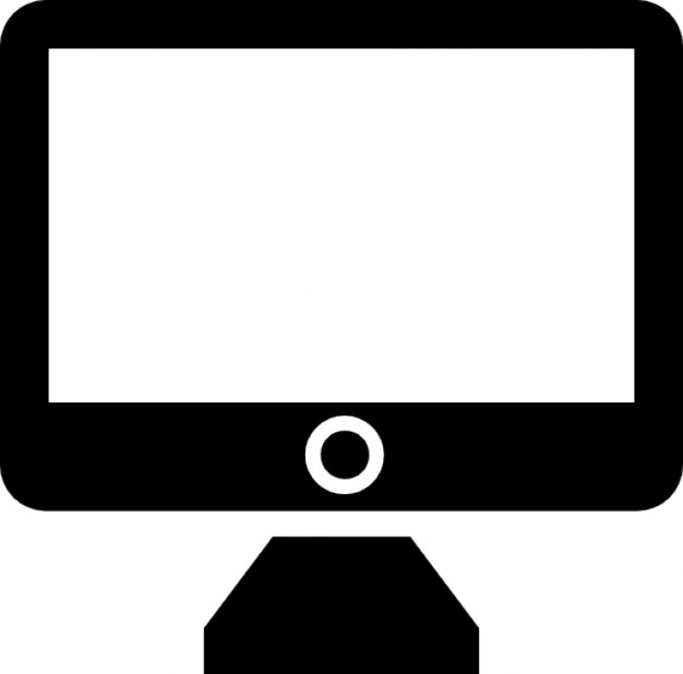 Apple imac Kostenlose Icons