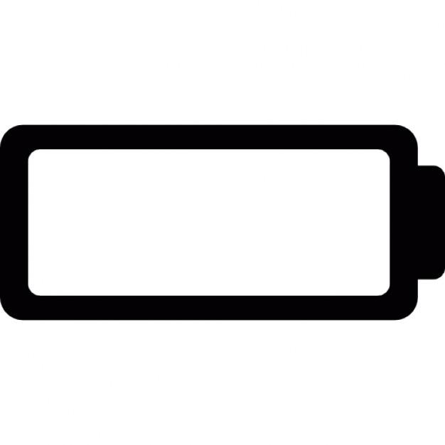 Batterie leer Schnittstelle Symbol | Download der kostenlosen Icons