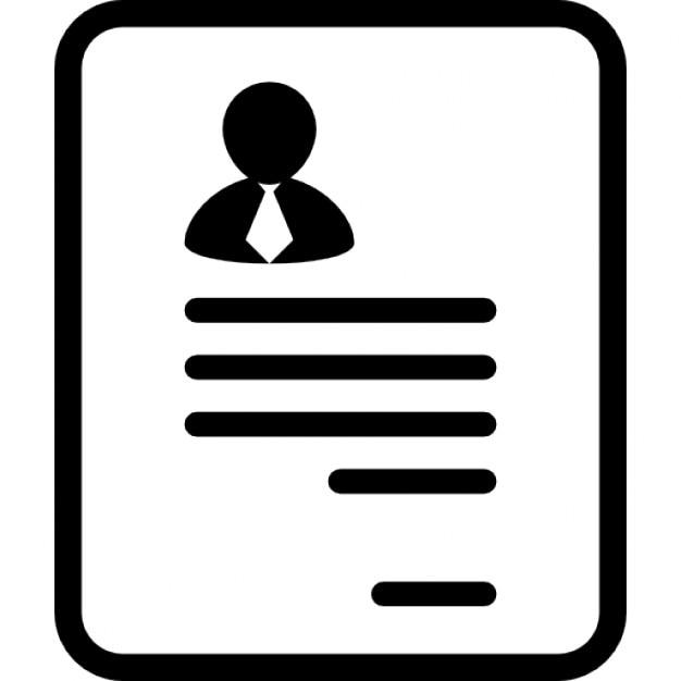 Berufsprofil mit Bild | Download der kostenlosen Icons