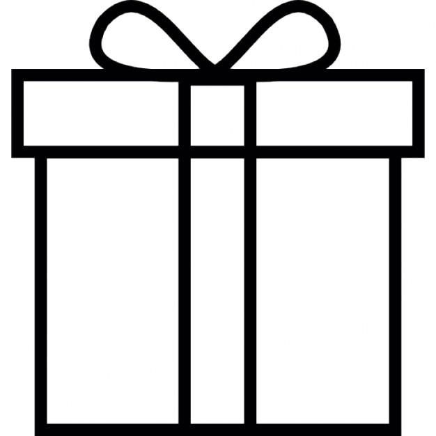 besonderes geschenk mit wei em band download der kostenlosen icons. Black Bedroom Furniture Sets. Home Design Ideas