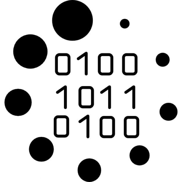 Binärcode Ladesymbol | Download der kostenlosen Icons