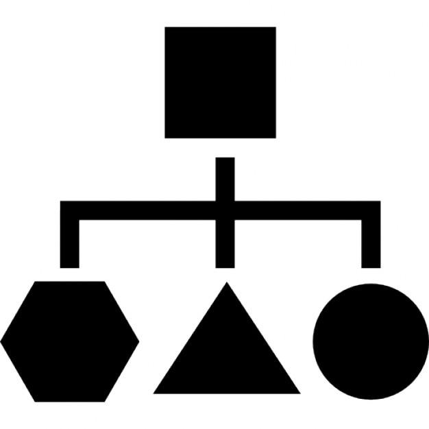 Blockschema geometrischen Formen | Download der kostenlosen Icons