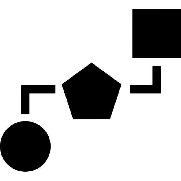 Blockschema von drei geometrischen Formen | Download der kostenlosen ...