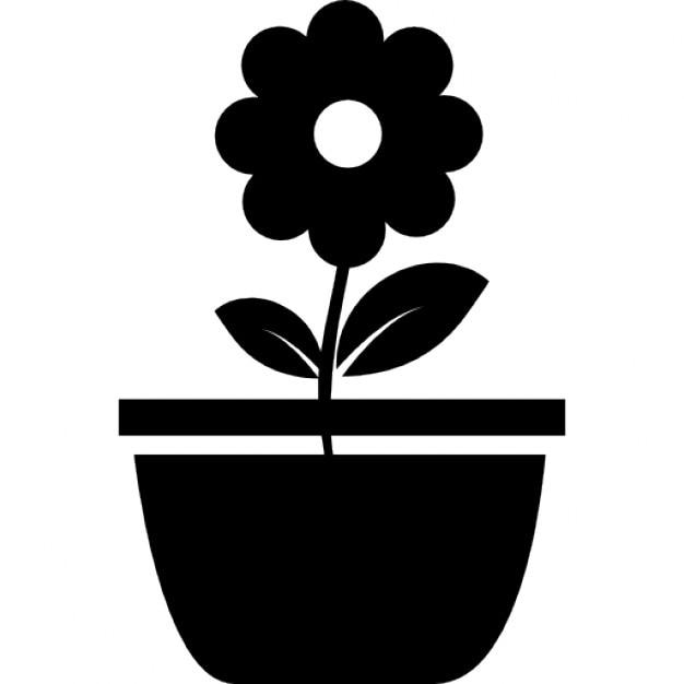 Blumentopf | Download der kostenlosen Icons