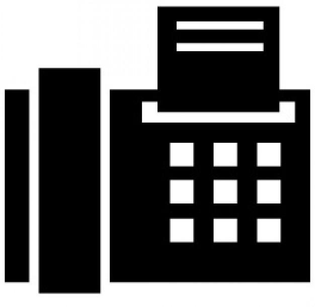 Büro fax symbol Kostenlose Icons