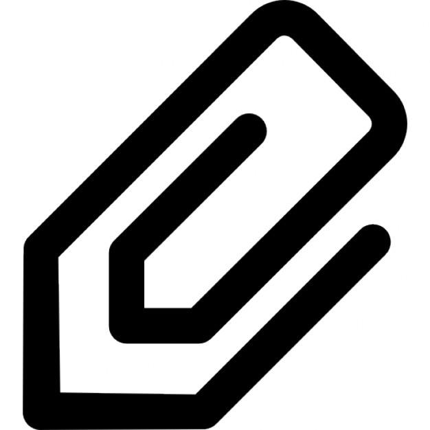 Büroklammer clipart  Büroklammer in Schräglage | Download der kostenlosen Icons