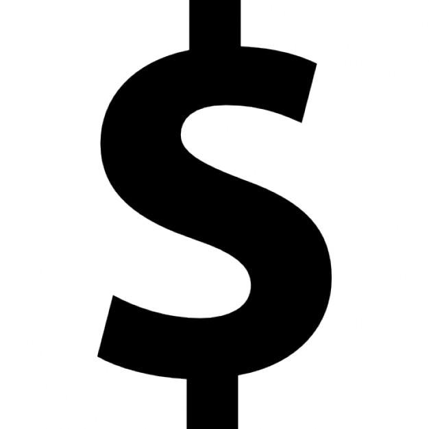 dollar zeichen symbol fetter text download der kostenlosen icons. Black Bedroom Furniture Sets. Home Design Ideas