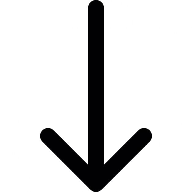 Küchenabzug Nach Unten ~ dünnen pfeil nach unten download der kostenlosen icons