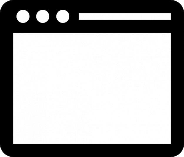 Einfachen terminal Kostenlose Icons