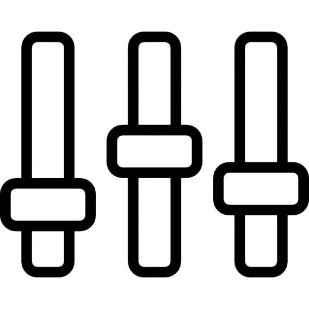 Einstellungen dünne Konsole steuert Symbol in einem Kreis   Download ...
