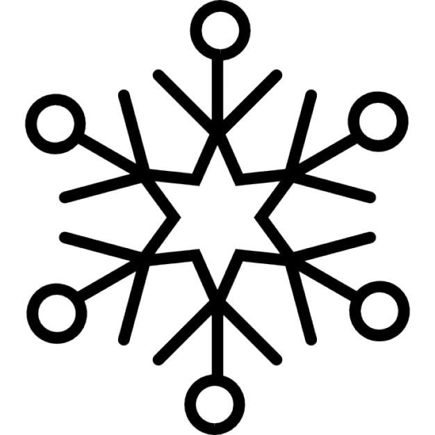 Eisflocke Kristall | Download der kostenlosen Icons