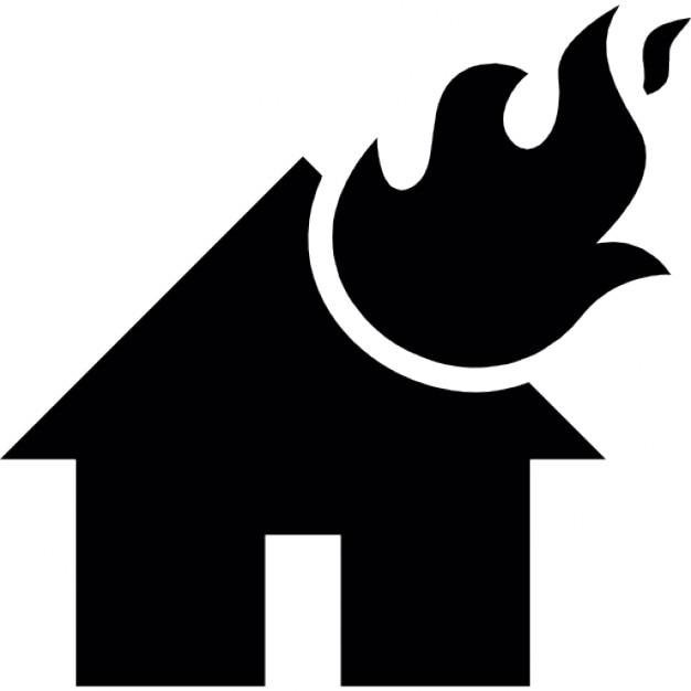 clipart burning house - photo #40