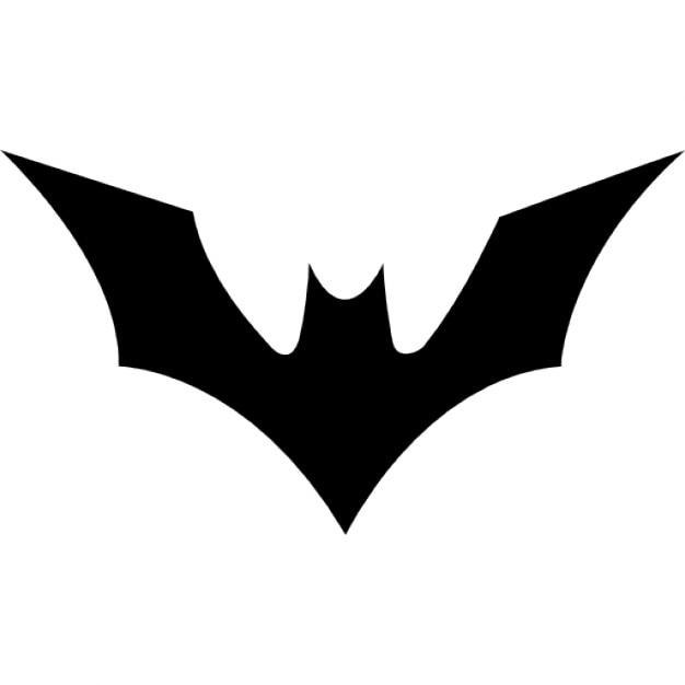 Fledermaus mit erhobenen Flügeln | Download der kostenlosen Icons