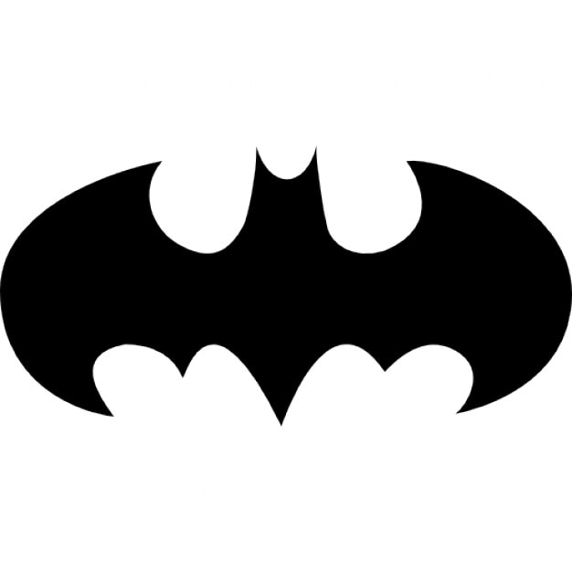 Fledermaus mit offenen Flügeln Logo-Variante | Download der ...