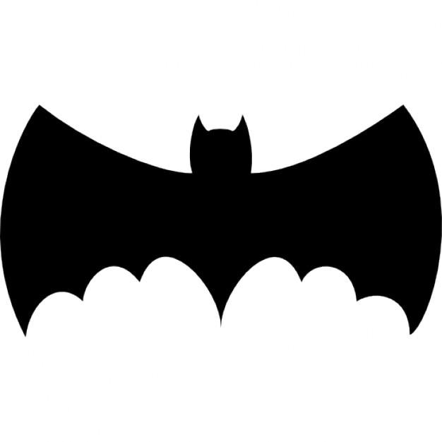 fledermaus silhouette mit gro u00dfen fl u00fcgeln download der