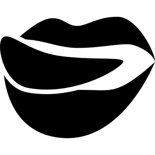 foodilicious logo der mund lippen mit der zunge download