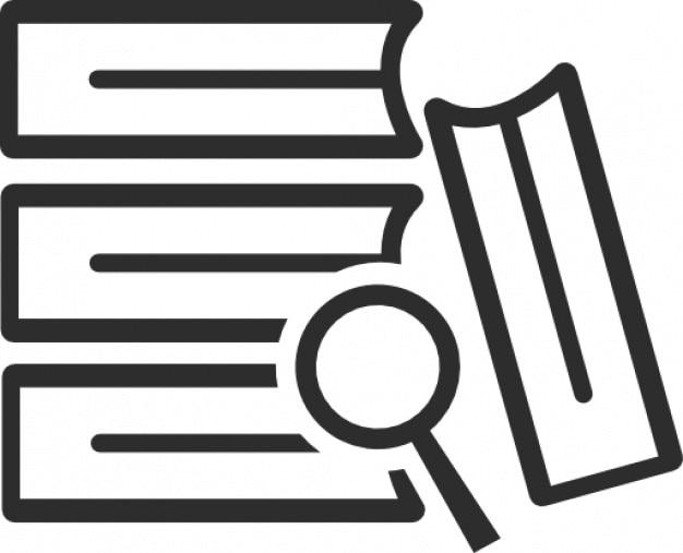 Forschung Bücher | Download der kostenlosen Icons