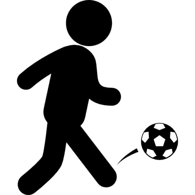 soccer ball icon vector
