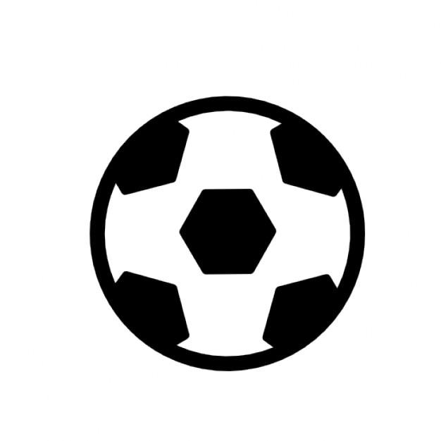 Fussball Ball Kostenlose Icon
