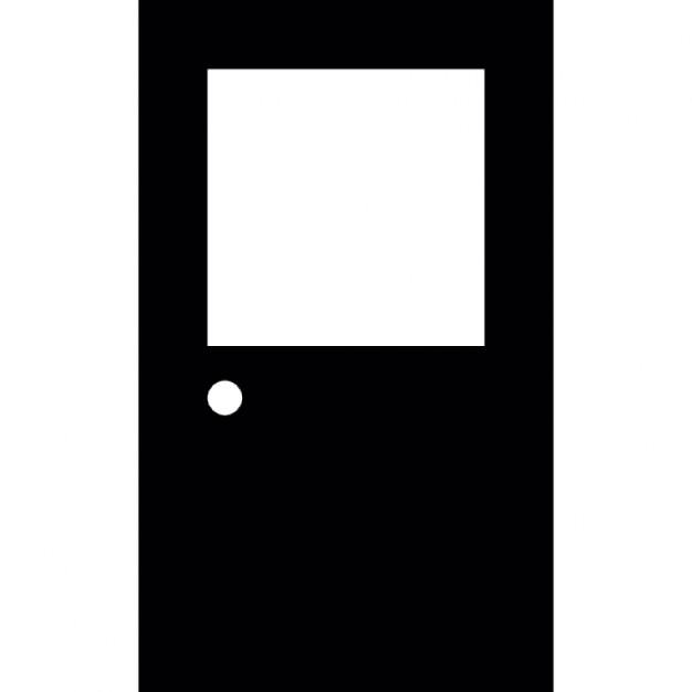 Geschlossene tür zeichnung  Geschlossene Tür mit Glas | Download der kostenlosen Icons