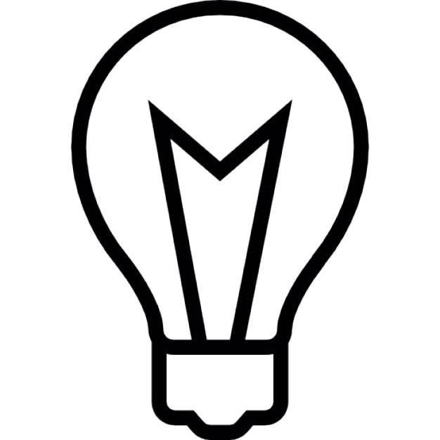 Glühbirne Licht, iOS-7-Schnittstelle Symbol | Download der ...