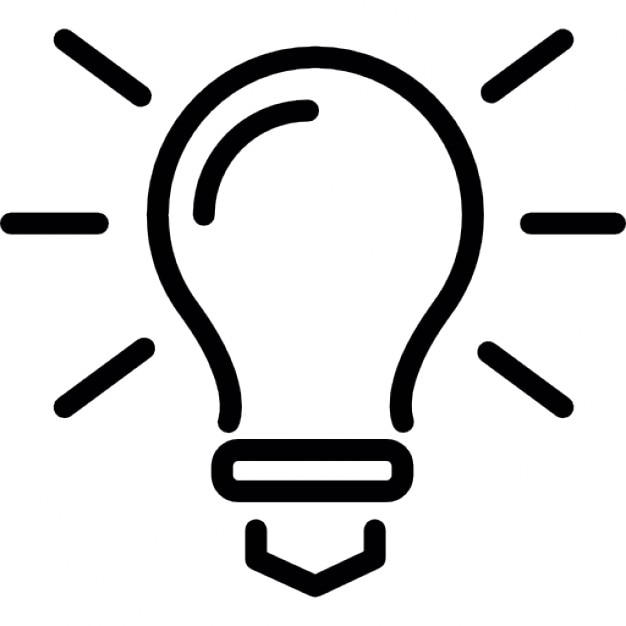 Glühbirne skizzieren, Ideen Symbol | Download der kostenlosen Icons