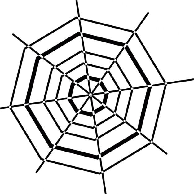 halloween achteckigen spinnennetz download der kostenlosen icons. Black Bedroom Furniture Sets. Home Design Ideas
