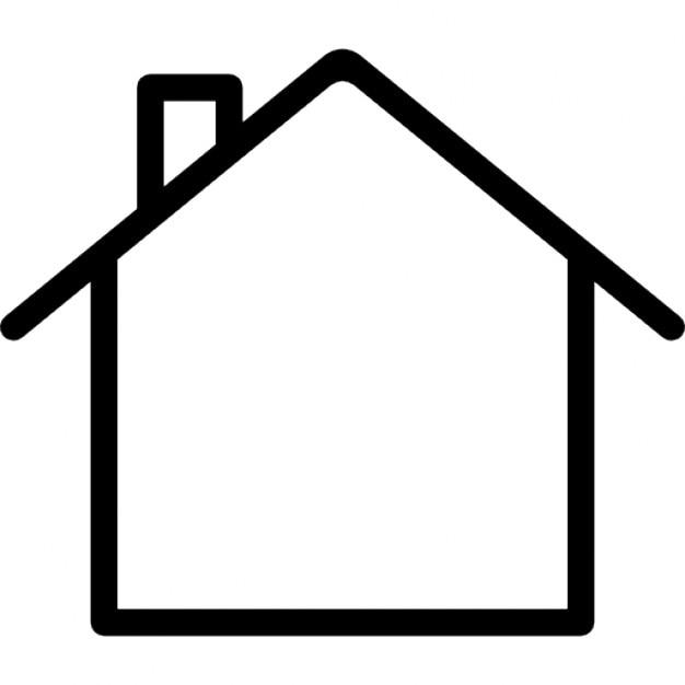 Line Art Of White House : Haus umriss download der kostenlosen icons