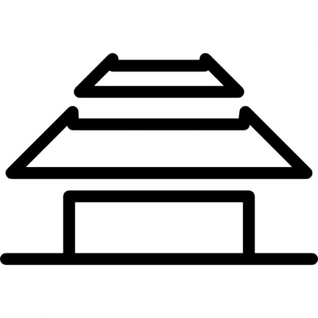 Haus variante von unterschiedlicher form umrisse gemacht for Haus umrisse