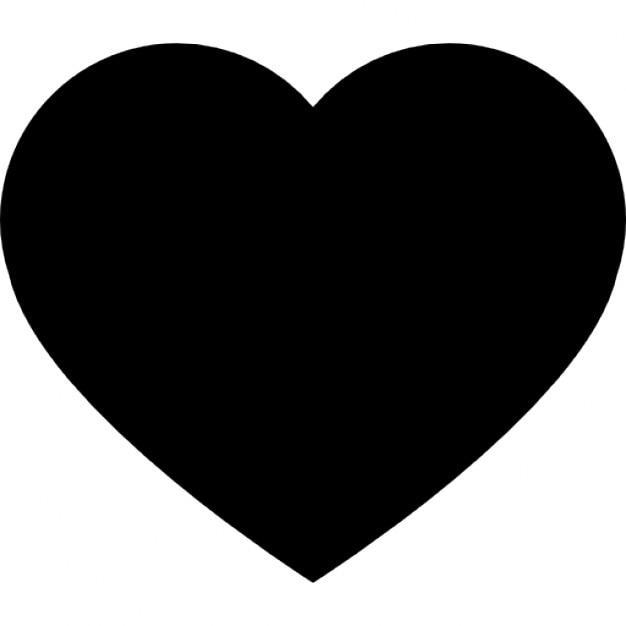 herz schwarz form f r valentinstag download der kostenlosen icons. Black Bedroom Furniture Sets. Home Design Ideas