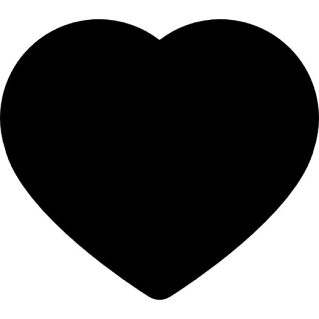 herz schwarz symbol download der kostenlosen icons. Black Bedroom Furniture Sets. Home Design Ideas