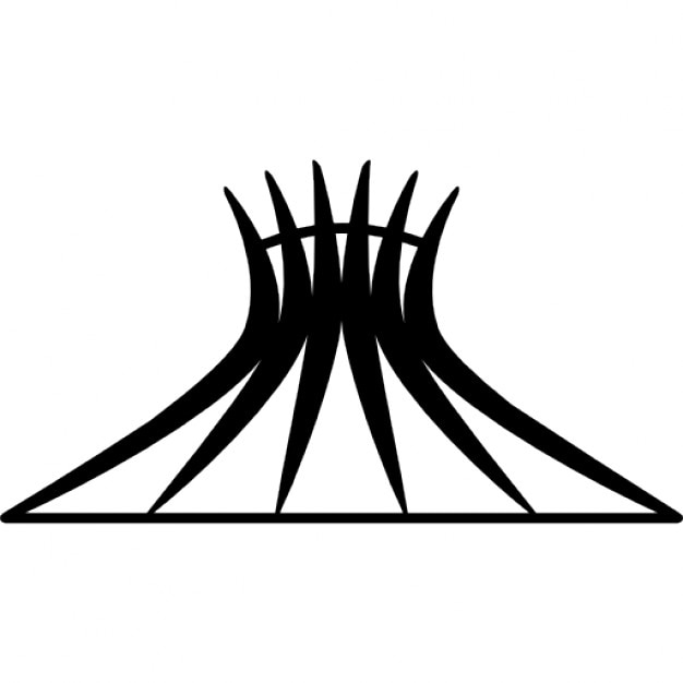 kathedrale von brasilia brasilien download der kostenlosen icons. Black Bedroom Furniture Sets. Home Design Ideas