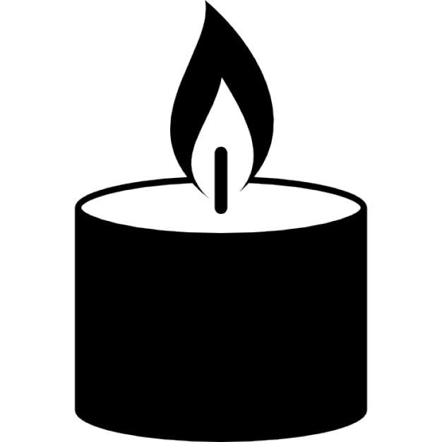 kerze brennende flamme download der kostenlosen icons