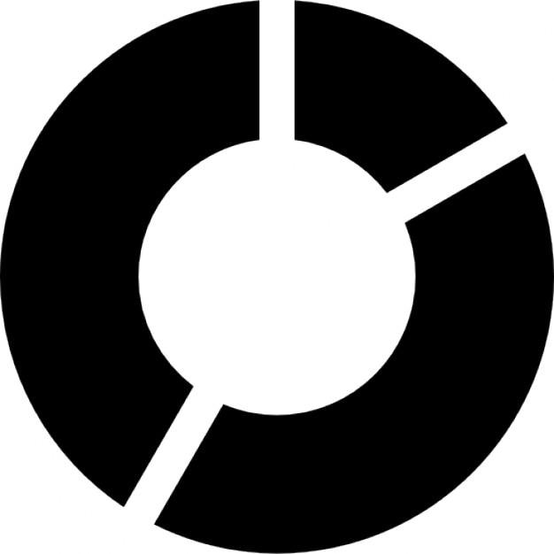 Kreis Der Kreisdiagramm Für Business