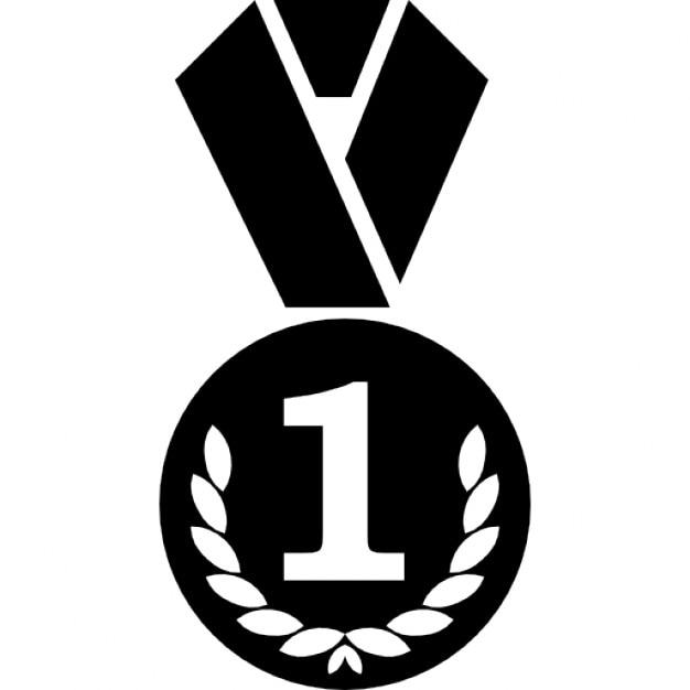 kreis medaille mit kranz und die nummer 1 zeichen download der kostenlosen icons. Black Bedroom Furniture Sets. Home Design Ideas