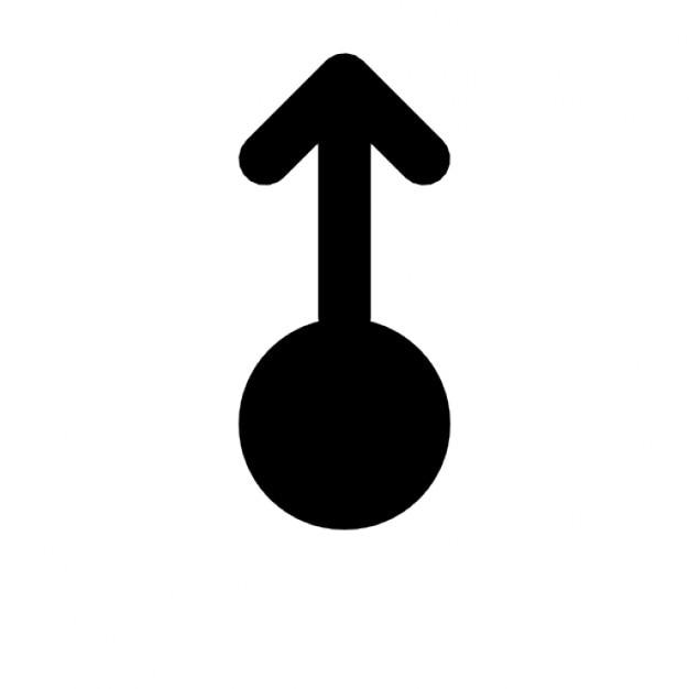 Kreis und pfeilspitze bis Kostenlose Icons