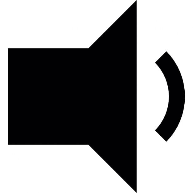Lautsprecher mit geringer Lautstärke-Symbol | Download der ...